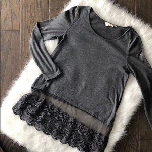 Grey long sleeve